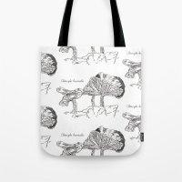 Clitocybe Brumalis // Ha… Tote Bag