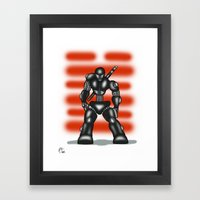 Robot Series - Snake-Eyes Model Framed Art Print