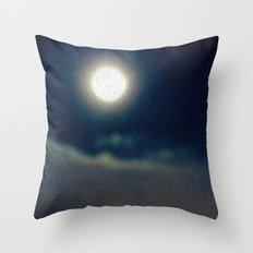 Symphony of Moon Throw Pillow