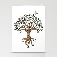 Shirley's Tree Stationery Cards
