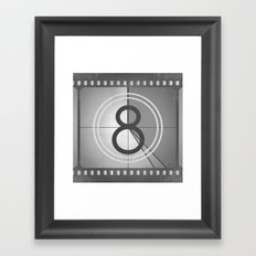 Countdown Film Framed Art Print