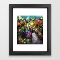I know you... Framed Art Print