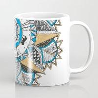 Gold & Turquoise Mandala Mug