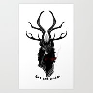 Eat The Rude Art Print