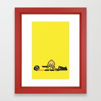 Kill Pixel Bill  Framed Art Print