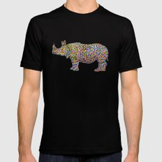 rhinocolor SMALL Black Mens Fitted Tee