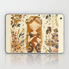 The Queen of Pentacles Laptop & iPad Skin