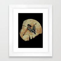 Leroy! Framed Art Print