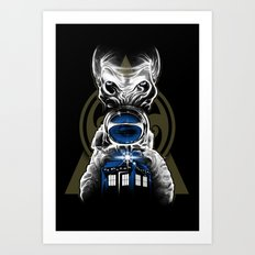 Impossible Astronaut Art Print