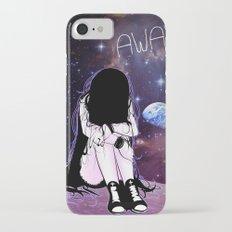 Gone away girl iPhone 7 Slim Case