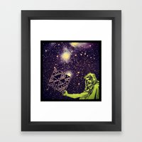 Dark Spell of Subversion Framed Art Print
