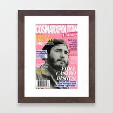 COSMARXPOLITAN, Issue 7 Framed Art Print