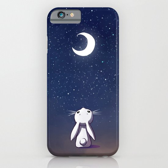 Moon Bunny iPhone & iPod Case