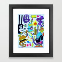 Very Special Things Framed Art Print