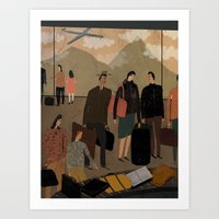 Frequent Travelers Art Print