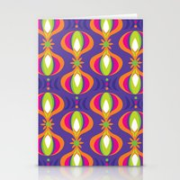 Oohladrop Purple Stationery Cards