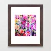 Flowers In The Wood Framed Art Print