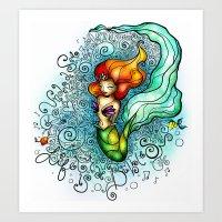 Life Is De Bubbles Art Print