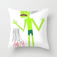 HULK SMASH Throw Pillow