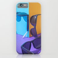 iPhone Cases featuring Summer ColorBlocks by Robson Ramiro