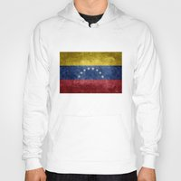 The national flag of the Bolivarian Republic of Venezuela -  Vintage version Hoody