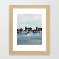 Another Town Framed Art Print