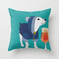 Sugar the Dog LIMITED EDITION Throw Pillow