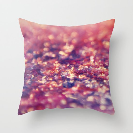 Sparkle On Throw Pillow