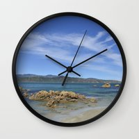 Wellington Beach Wall Clock