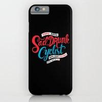 Sad, Drunk Cyclist iPhone 6 Slim Case