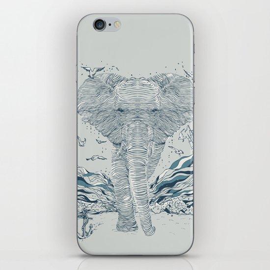 THE OCEAN SPIRIT iPhone & iPod Skin