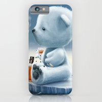 iPhone & iPod Case featuring Derek The Depressed Bear by Andy Fairhurst Art