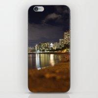 Waikiki Beach iPhone & iPod Skin