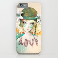 iPhone & iPod Case featuring War girl by Ariana Perez