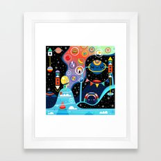 Dreamer's Peak Framed Art Print