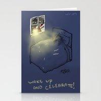 Wake up & Celebrate! Stationery Cards