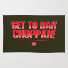 Get To Dah Choppah! Rug