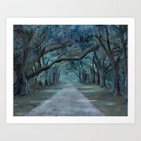 Southern Moonlight Art Print
