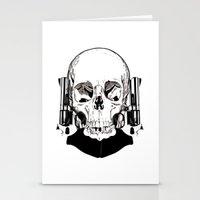 Revolver Beard Stationery Cards
