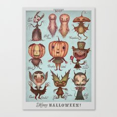 Happy Halloween! Canvas Print