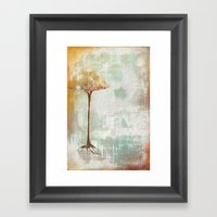 The Hard Line Framed Art Print