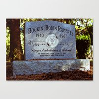 Canvas Print featuring Remembering Rockin' Robin by Vorona Photography