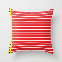 Big River Sweet Onions Throw Pillow