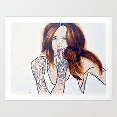 F*ck You, I'm a Lady Art Print