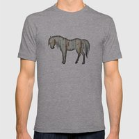 Wooden horse Mens Fitted Tee Athletic Grey SMALL