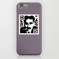 QR- Groucho iPhone 6 Slim Case
