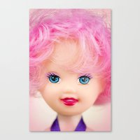 Pink & Cheery Canvas Print