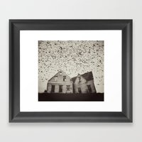 Home of Murmuration Framed Art Print