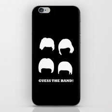 Guess the band! iPhone & iPod Skin