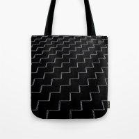 ZigZags Dark Tote Bag